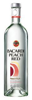 bacardi peach red